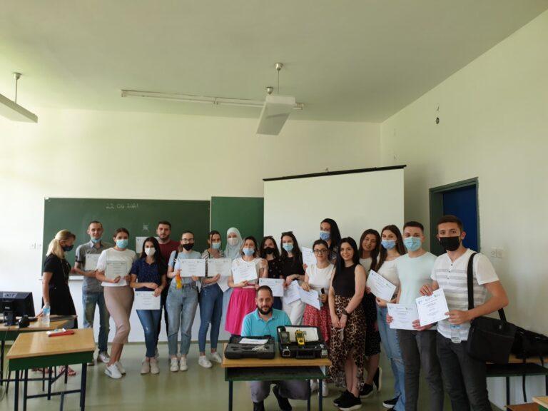 Edukacija za studente Fakulteta zdravstvenih studija Univerziteta u Sarajevu